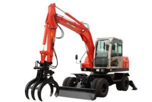 晋工JGM9085LNZ-8轮胎式多功能蔗木拾装机