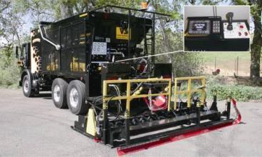 凯联-美国VSS  MP-12D大型稀浆封层/微表处施工设备高清图 - 外观