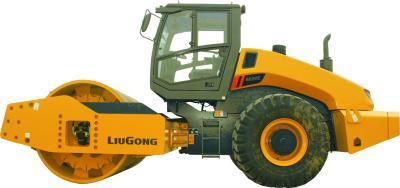 柳工CLG6630E全液压双驱单钢轮压路机高清图 - 外观