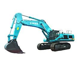 山河智能SWE900ES混合动力挖掘机
