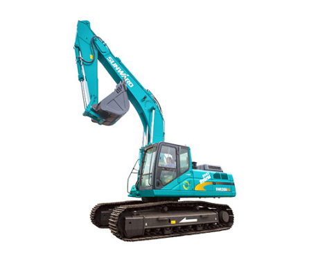 山河智能SWE385ES混合动力挖掘机