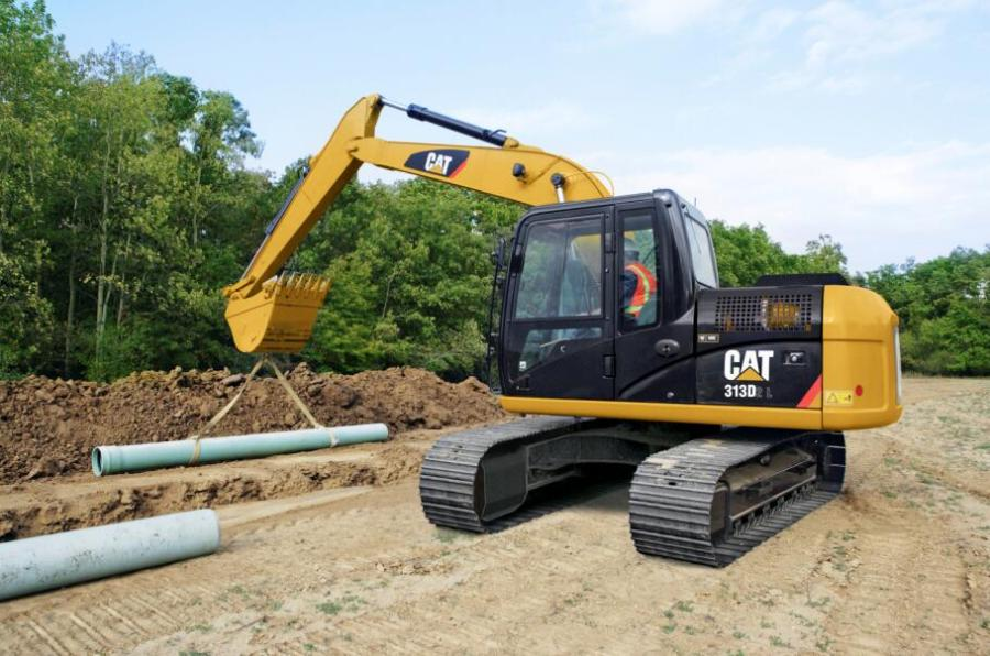 卡特彼勒313D2 L挖掘机