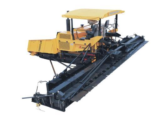 新筑MT12000A履带式机械加宽摊铺机