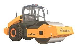 柳工CLG6120E机械振动单钢轮压路机