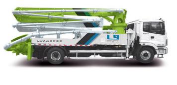 雷萨重机30米泵车高清图 - 外观