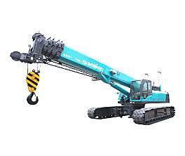 山河智能SWTC75B伸缩臂履带起重机
