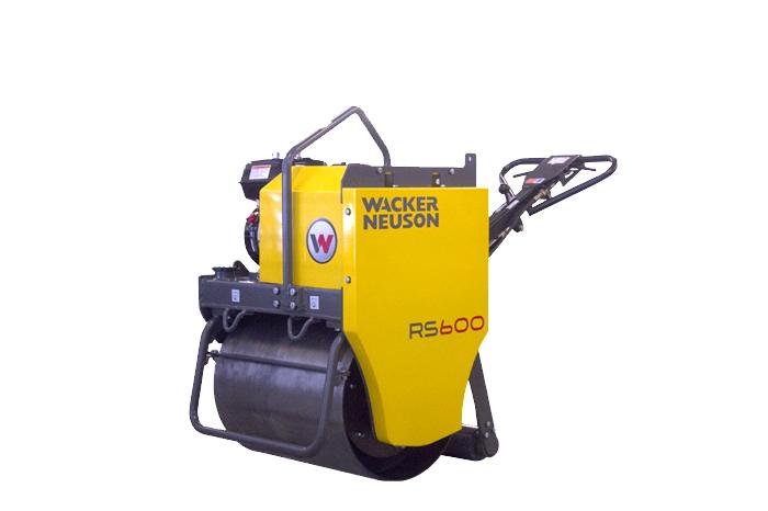 威克诺森RS600小型压路机高清图 - 外观