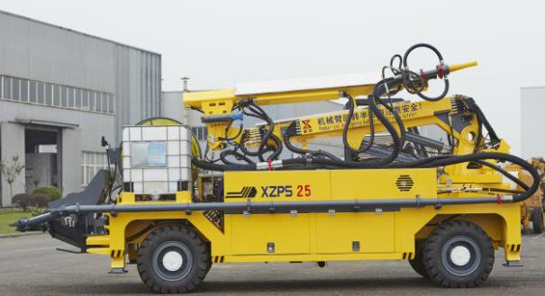 新筑XZPS25湿喷机