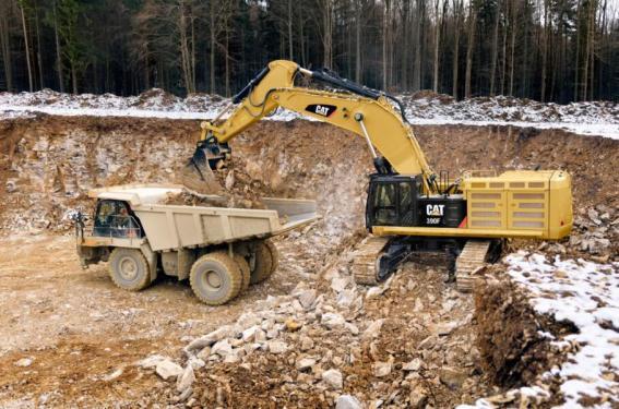 卡特彼勒390F L液壓挖掘機