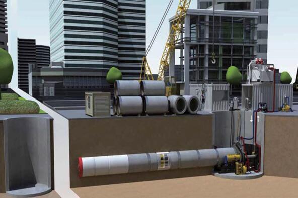 三一重工小型盾构机和顶管掘进机盾构机械高清图 - 外观