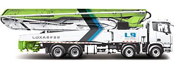 雷薩重機58米泵車