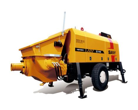 三一重工HBT8016C-5拖泵