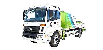 雷薩重機BJ5123THB-9018車載式混凝土輸送泵