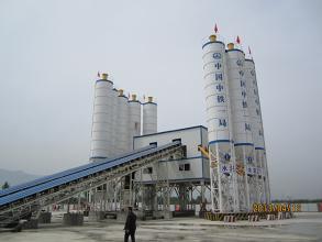 新筑HZSG120高铁站专用混凝土搅拌站高清图 - 外观
