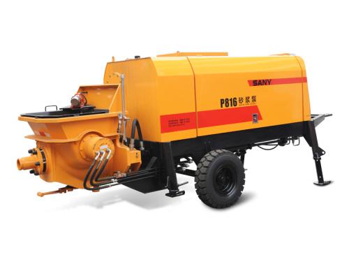 三一重工P816液压活塞砂浆泵