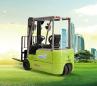 恒叉EF416三支点双驱蓄电池平衡重式叉车高清图 - 外观
