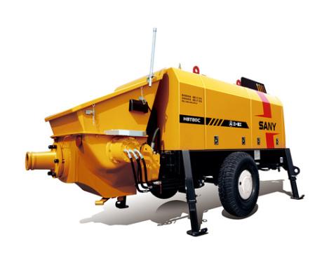 三一重工HBT8018C-5拖泵