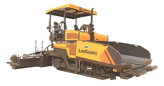柳工CLG509A沥青摊铺机