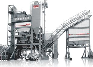 中交西筑J4000集装箱式沥青搅拌设备高清图 - 外观