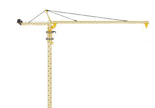 徐工XGT160CⅡ(7017L-12)塔式起重机高清图 - 外观