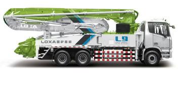 雷萨重机38米泵车高清图 - 外观
