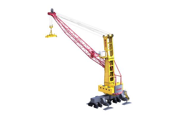三一重工SGQ105港口移动式高架起重机高清图 - 外观