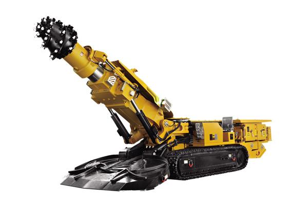 三一重工EBZ230C悬臂式掘进机高清图 - 外观