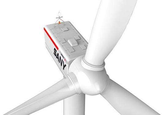 三一重工SE12730高速双馈型风力发电机组