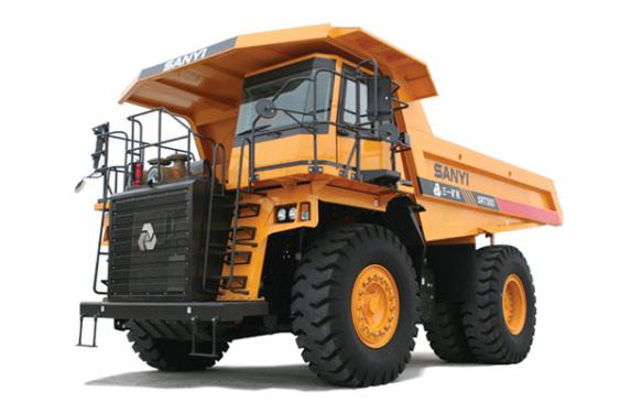 三一重工SRT55D矿用自卸车