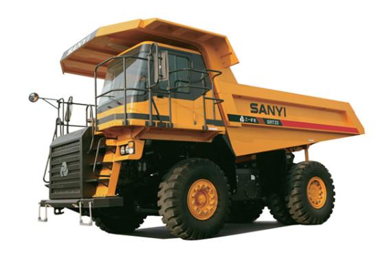 三一重工SRT33矿用自卸车