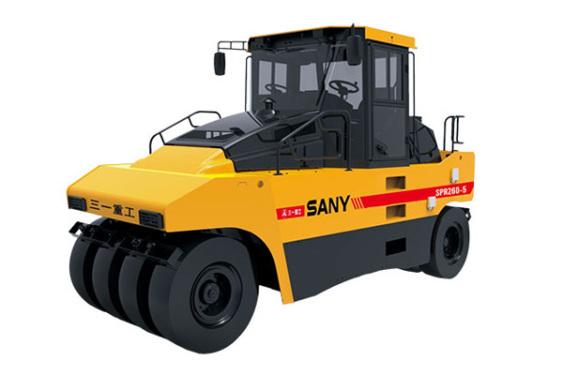 三一重工SPR260-5輪胎式壓路機