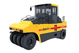 三一重工SPR260-5轮胎式压路机