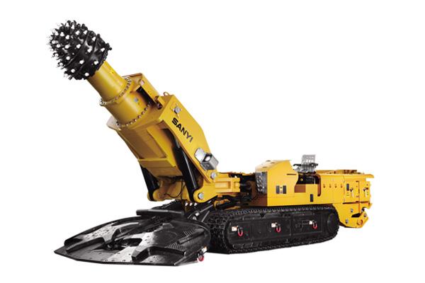 三一重工EBZ260H悬臂式掘进机高清图 - 外观