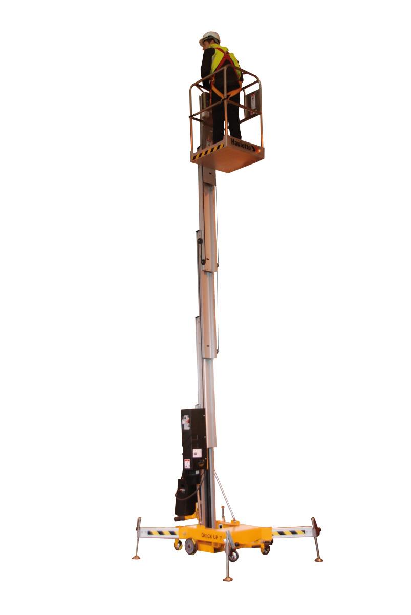 欧历胜Quickup 11简易推动式升降机高清图 - 外观