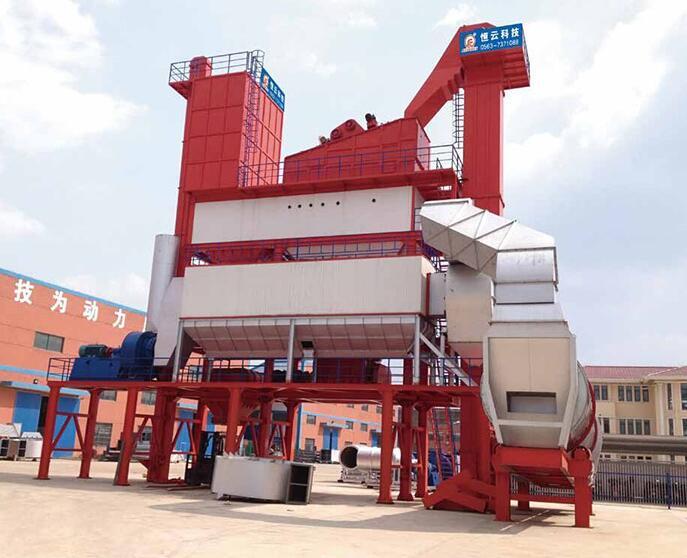 恒云科技沥青混合料搅拌成套设备300~400吨高清图 - 外观