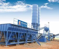 恒云科技WDT400稳定土厂拌设备