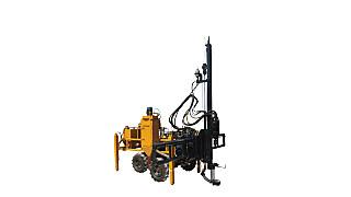 高时QCDZC-90D轻型电动液压垂直钻车