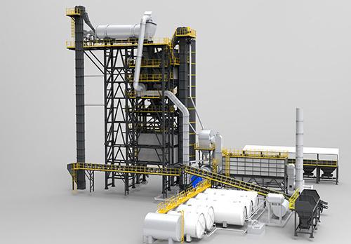 徐工XRP160沥青厂拌热再生设备