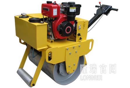 隆瑞机械LRY700C手扶双钢轮压路机高清图 - 外观