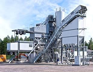 安迈ABM 240 BLACKMOVE间歇式沥青混凝土搅拌站