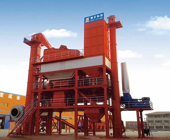 恒云科技沥青混合料搅拌成套设备180~240吨高清图 - 外观