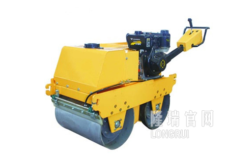 隆瑞机械LRYJ600SC手扶双钢轮振动压路机高清图 - 外观