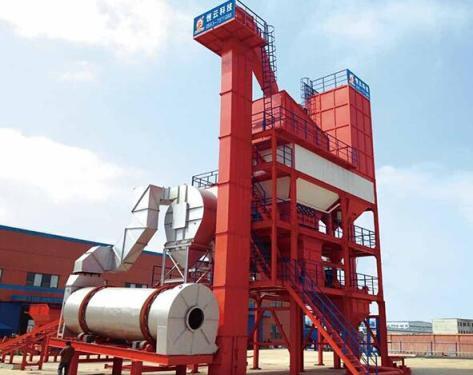 恒云科技LBM-2500C型沥青混合料搅拌成套设备