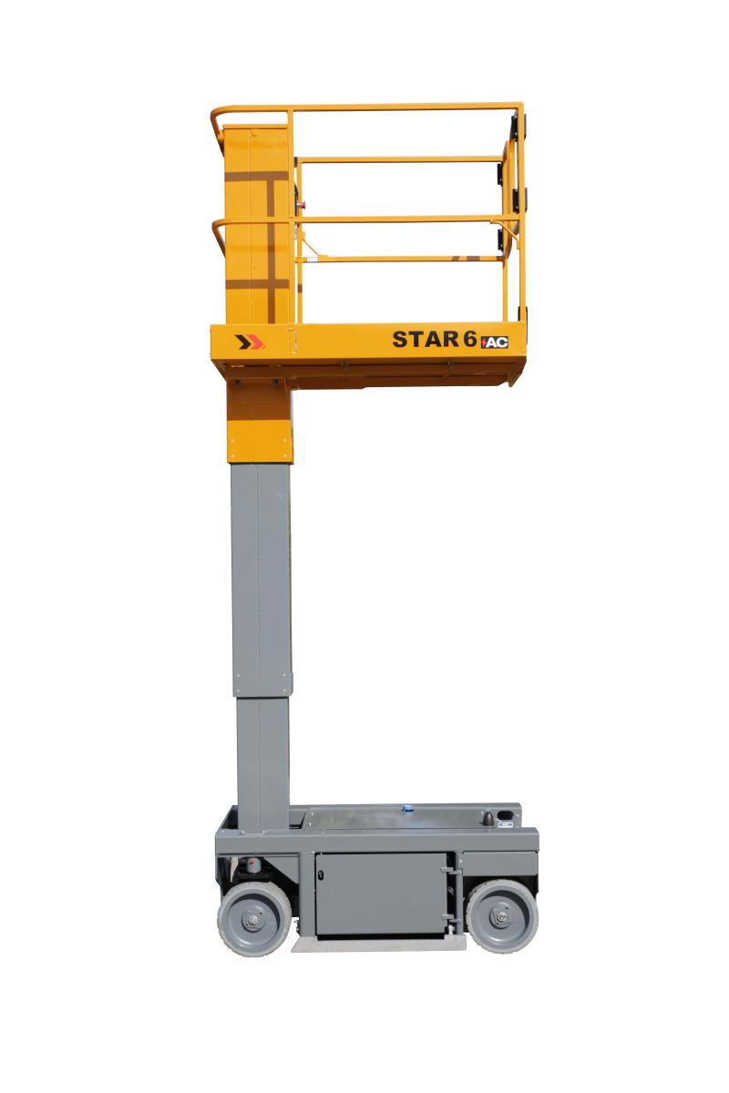 欧历胜STAR 6垂直桅杆式升降机高清图 - 外观