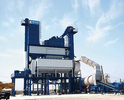 恒云科技沥青混合料搅拌成套设备240~320吨高清图 - 外观