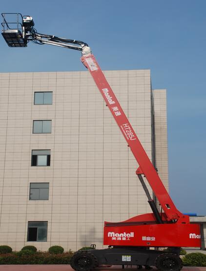 美通重工HT 285J自行式直臂型高空作业平台高清图 - 外观