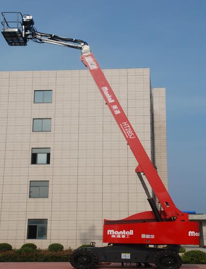 美通重工HT 215J自行式直臂型高空作业平台高清图 - 外观