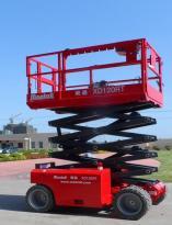 美通重工XD100RT自行式柴油剪刀型高空作业平台