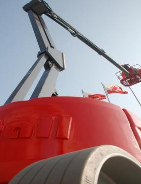 美通重工HZ160 JDC自行式曲臂型高空作业平台