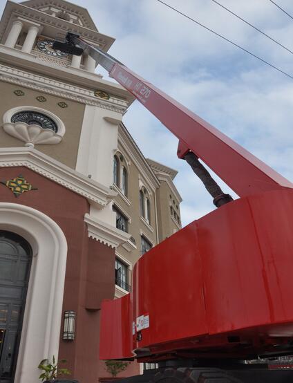 美通重工HT 270自行式直臂型高空作业平台高清图 - 外观